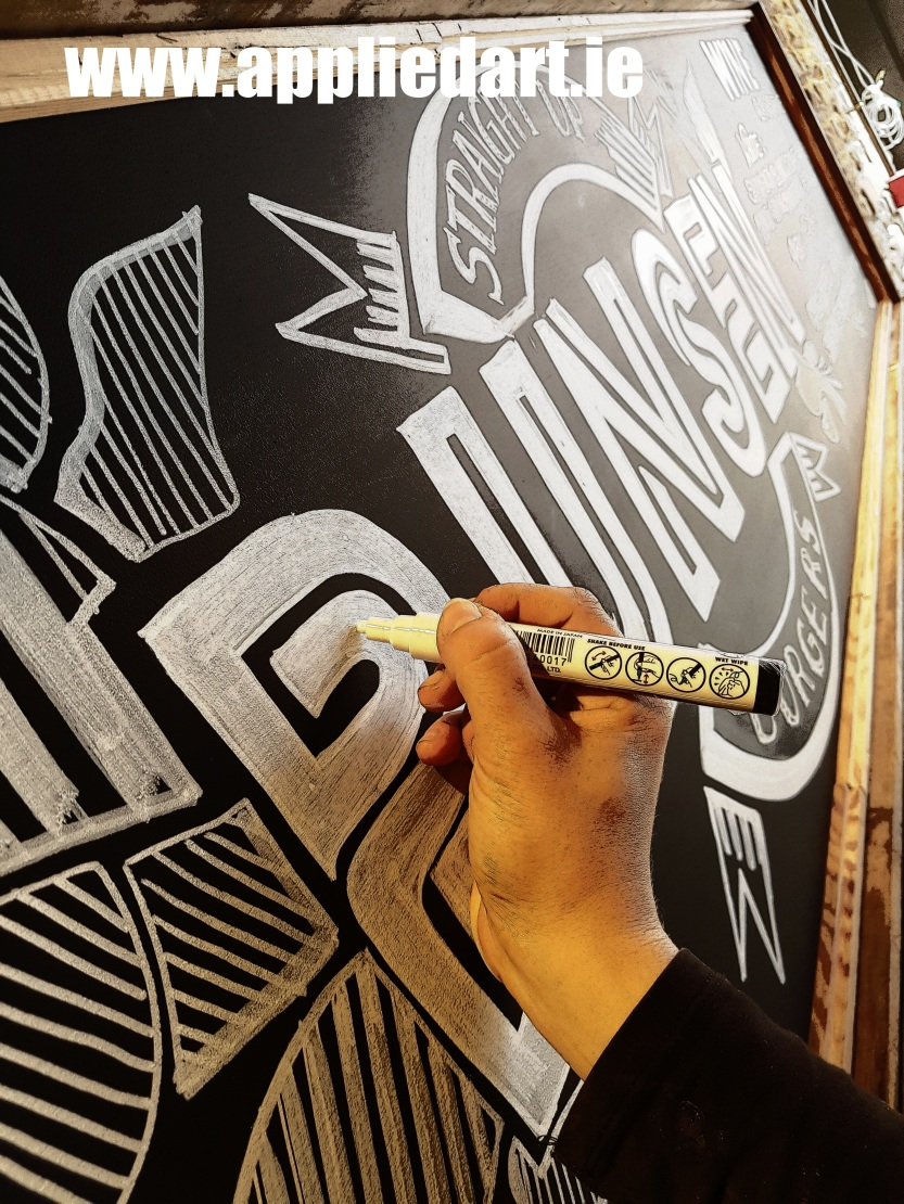 a a chalk board for business design appliedart.ie klaudia pawlowska designer ireland dublin artist muralist (39)