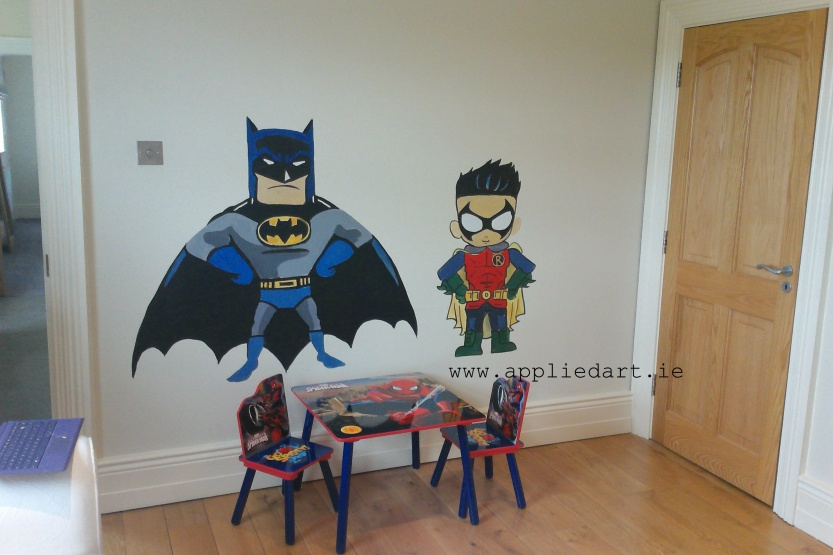 kids murals wall painting dubl,in ireland mural company appliedart.ie artist