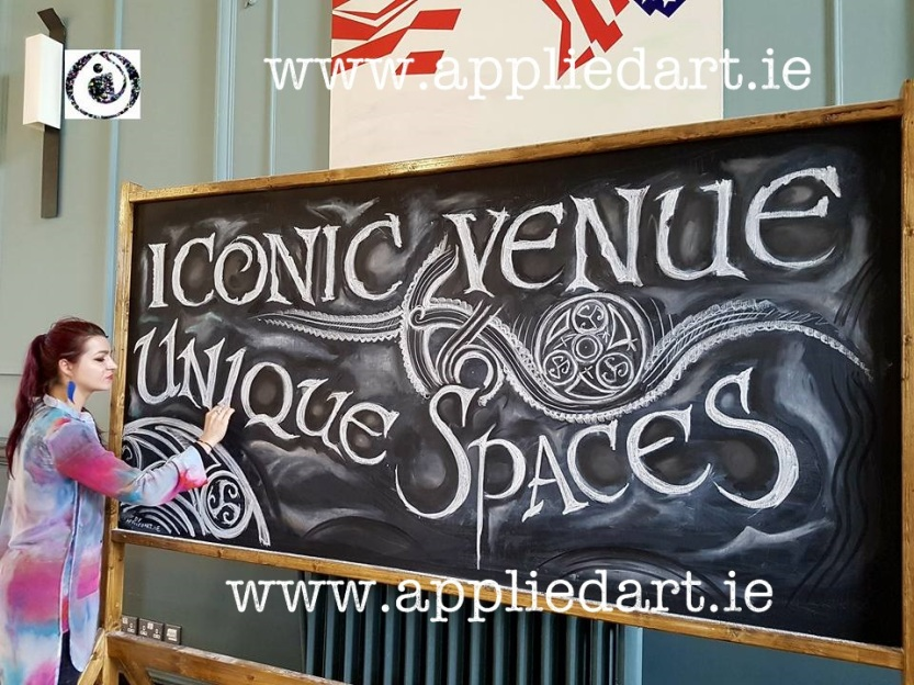 artist dublin mural art for business klaudia pawlowska byrne dublin paintings chalk artwork custom wood designs trinity college dublin art work (2)