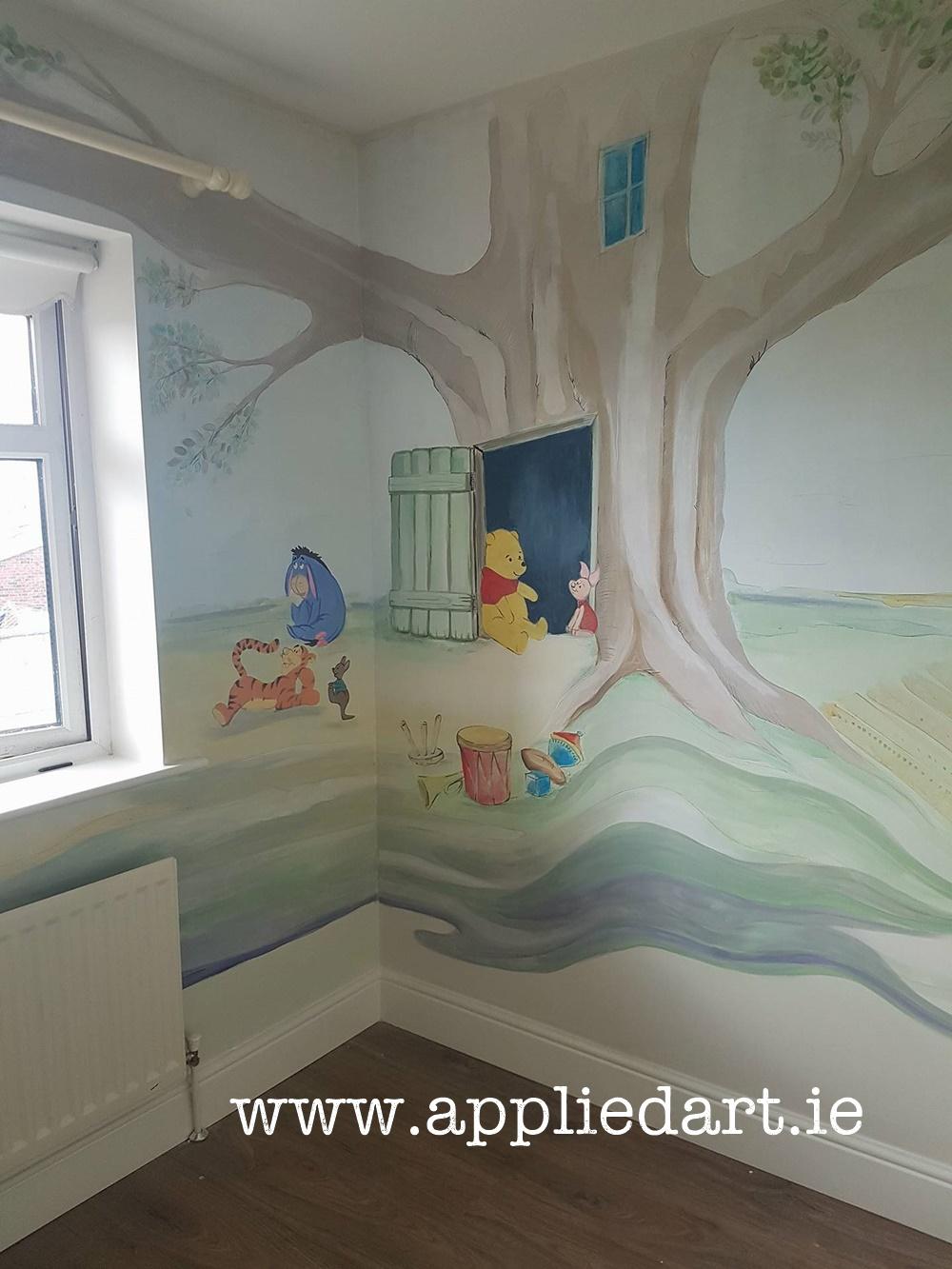 Nursery Design Winnie The Pooh Nursery Design Applied Art