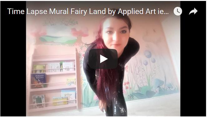 klaudia pawlowska appliedart mural time lapse video dublin ireland