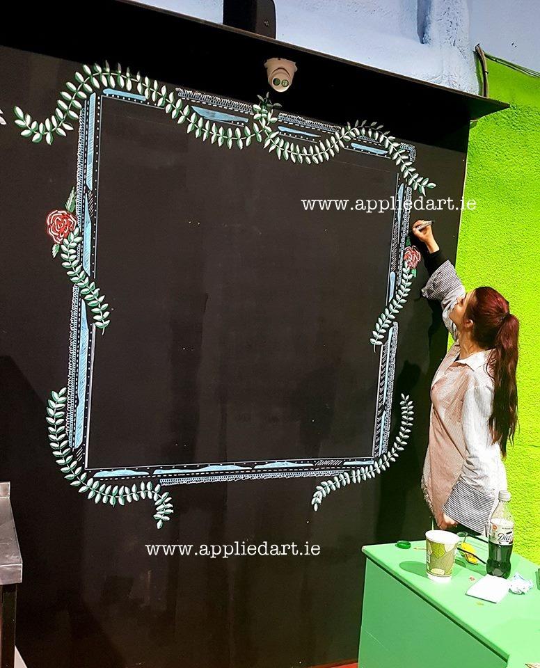 murals dublin artist business commercial mural idea price applied art klaudia pawlowska byrne dublin art comission artist ireland