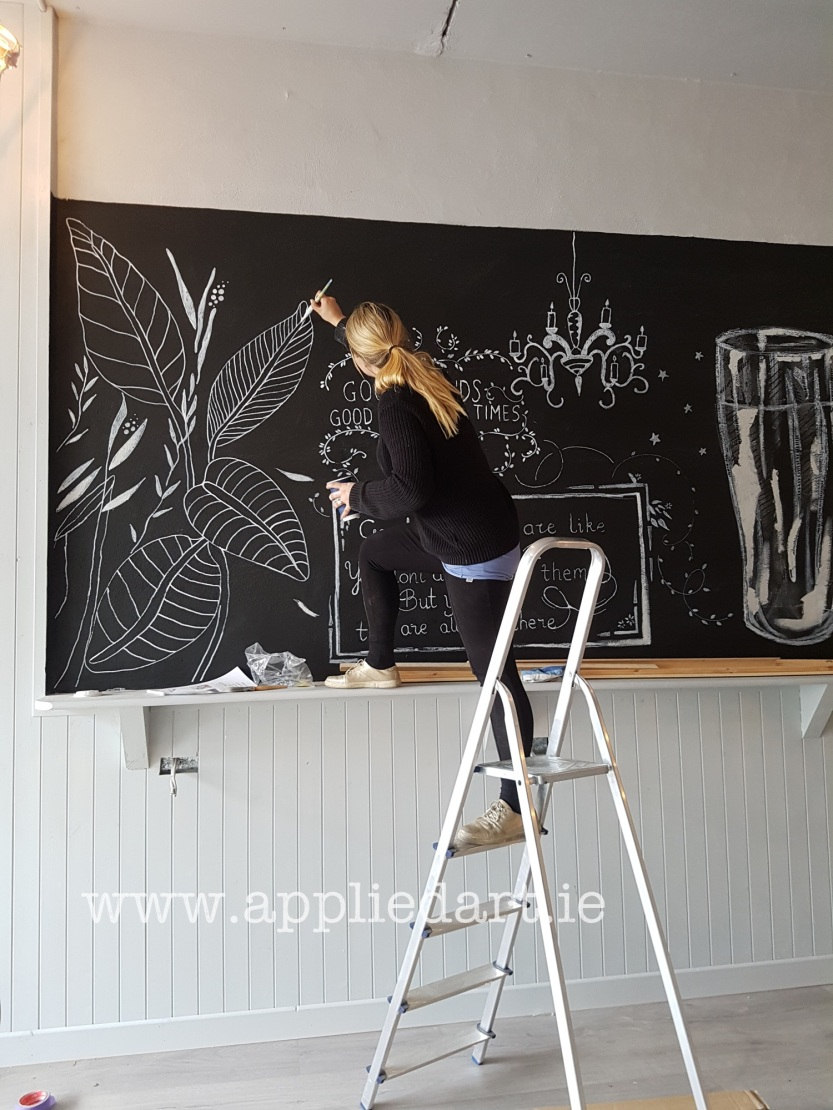 aKlaudia Byrne Applied Art chalk art cafe nwetown mount kennedy irish artist chalk board commercial art painting chalk branding ireland (17).jpg