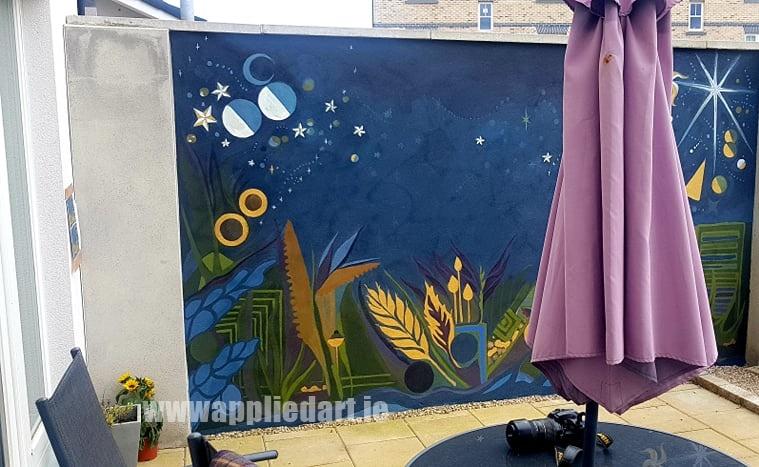 Klaudia byrne artist dublin applied art ireland dublin klausia artist saggart locl artist newcastle tallaght artist painter muralsit ireland mural mural art (11)