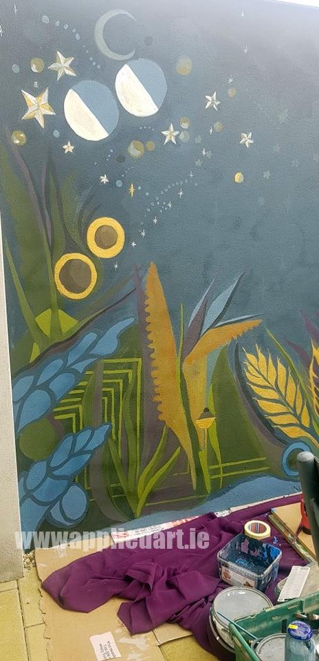 Klaudia byrne artist dublin applied art ireland dublin klausia artist saggart locl artist newcastle tallaght artist painter muralsit ireland mural mural art (18)