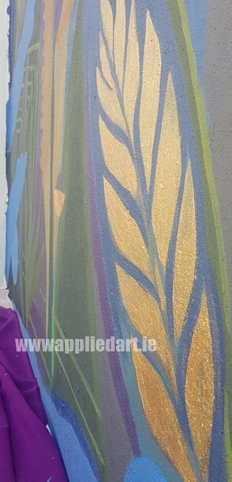 Klaudia byrne artist dublin applied art ireland dublin klausia artist saggart locl artist newcastle tallaght artist painter muralsit ireland mural mural art (25)