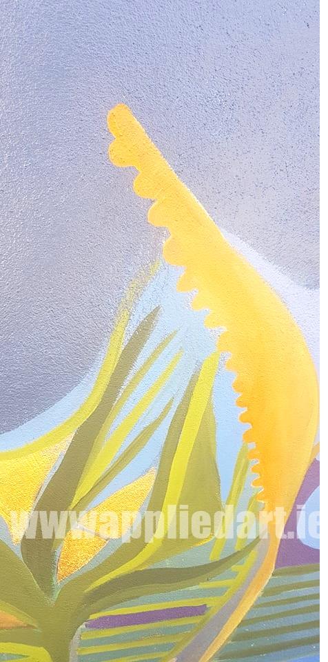 Klaudia byrne artist dublin applied art ireland dublin klausia artist saggart locl artist newcastle tallaght artist painter muralsit ireland mural mural art (27)